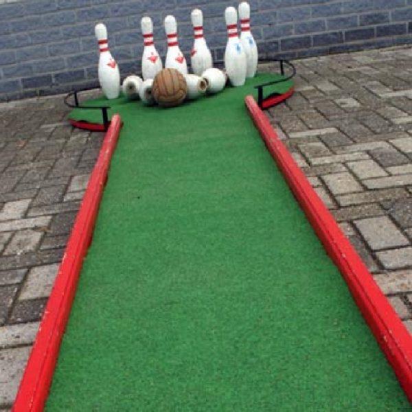 mobiele bowlingbaan